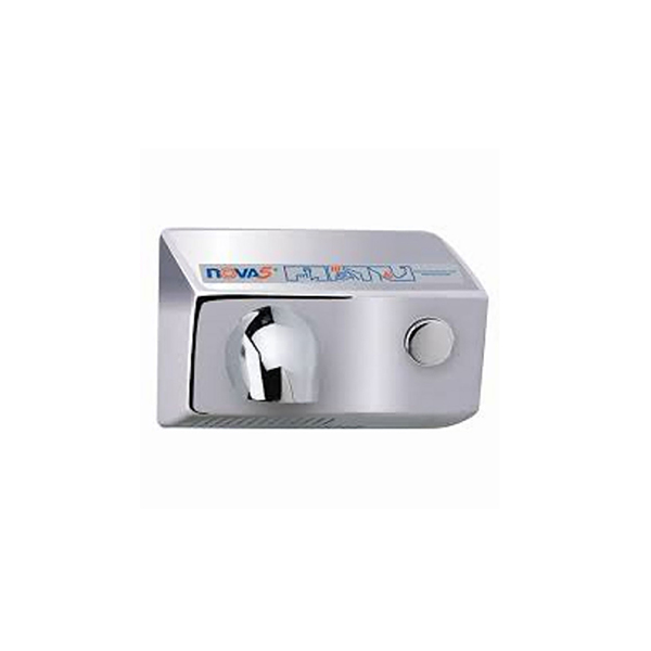 Polished Nova 5 hand dryer