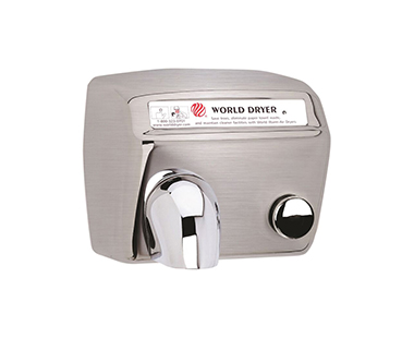 Model A Hand Dryers World Dryer Push In Fuse Box House For
