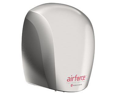 Brushed Airforce hand dryer