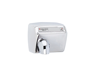 Polished Airmax hand dryer
