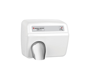 White Airmax hand dryer
