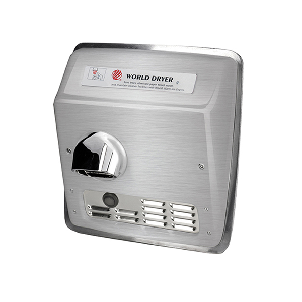 Brushed Model XRA hand dryer