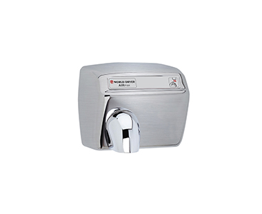 Brushed Airmax hand dryer