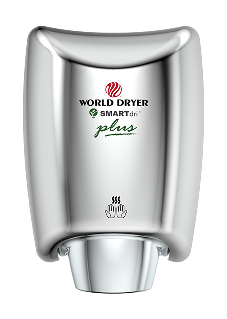 Polished SMARTdri hand dryer